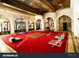 jodhpur india march 08 interior mughal stock photo 194989223