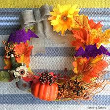 321 Best Diy Halloween Images On Pinterest Halloween Wreaths by Diy Dollar Tree Halloween Wreath Under 10