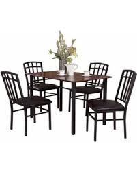 Keller Dining Room Furniture Amazing Shopping Savings Keller 5 Wood And Metal Dining Set