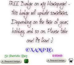 imvu view topic free badges holiday changing