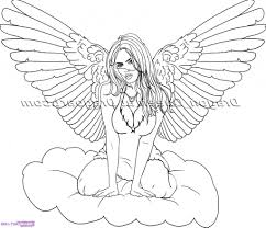 easy drawing pictures of angels 1000 ideas about angel drawing on