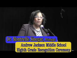 jackson middle school yearbook andrew jackson middle school eighth grade recognition ceremony