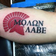 best 25 molon labe tattoo ideas on pinterest molon labe