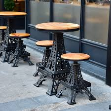 eiffel tower table table and chairs eiffel tower home furniture furniture