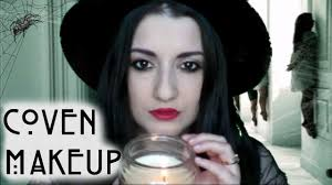 american horror story coven inspired makeup youtube
