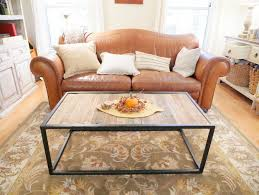 Pallet Coffee Tables Diy Metal U0026 Pallet Coffee Table 11 Steps With Pictures