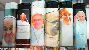 pope francis souvenirs pope francis cigarette lighters and 9 other best worst