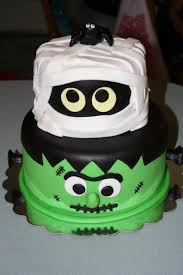 Images Halloween Cakes by Frankenstein Mummy Halloween Cake Cakecentral Com