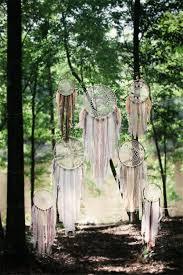 wedding altar backdrop 30 dreamcatchers boho wedding decor ideas deer pearl flowers