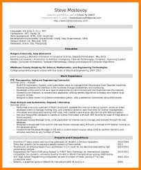 Unix Developer Resume 10 Software Developer Resumes Write Memorandum