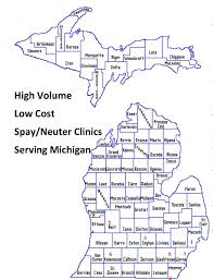 Monroe Michigan Map by High Volume Low Cost Spay Neuter Www Michiganpetfund Orgwww