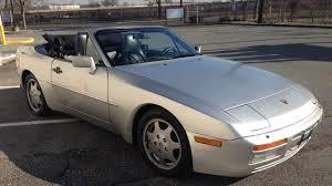 porsche 944 silver 1990 porsche 944 s2 cabriolet l28 kissimmee 2016