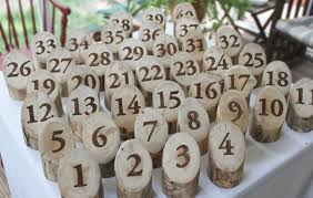 Wedding Table Numbers Ideas Wedding Tables Rustic Wedding Table Number Ideas Creative
