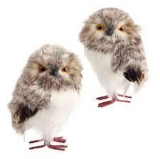 white feather owls ideas owl ornament