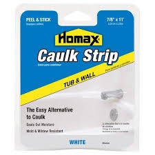 Caulking Tape For Bathtub Homax Extra Wide Caulk Strip Walmart Com