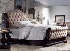Upholstered Bedroom Furniture by Hooker Furniture 5323 90450 Tynecastle Queen Sleigh Bed In Medium
