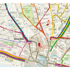 Map My Driving Route by Brighton And Hove Buses