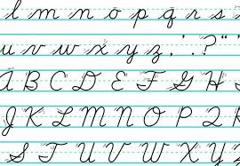 how to write i in cursive does cursive need to be taught in the digital age nea today