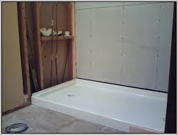 Installing Tile Shower Pan Redi Tile Shower Pan Installation Tiles Home Decorating Ideas