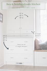 kitchen pantry storage ikea a comprehensive list of the sizes of our kitchen s ikea