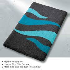 Aqua Bathroom Rugs Bathroom Rugs In Contemporary Modern Designs Colors Shapes