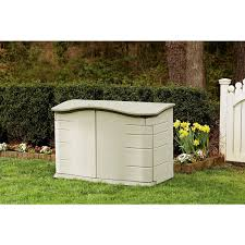 exterior best rubbermaid storage sheds ideas with plant and grass