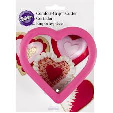 Comfort Grip Cookie Cutters Amazon Com Wilton Comfort Grip Heart Cutter Valentines Cookie