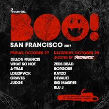 city nights san francisco halloween boo insomniac