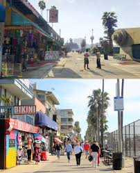 Judgemental Map Of Los Angeles by Gta V Ingame Los Santos Vs Reallife Los Angeles Screenshot Gta V