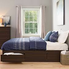 Bowery Queen Storage Bed by Storage Beds Full Size With Drawers Home U2014 Modern Storage Twin Bed