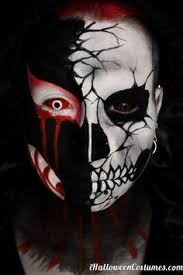Scary Guy Halloween Costumes 166 Male Makeup Ideas Images Male