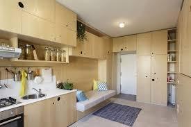 studio apt furniture 30 sqm modern studio apartment full of space saving furniture