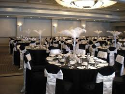 Wedding Reception Vases 35 Black And White Wedding Table Settings Table Decorating Ideas