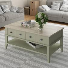 amazon com ameriwood home newport coffee table light sage and