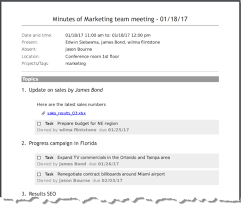 how to write meeting minutes quickly and easily meetingking