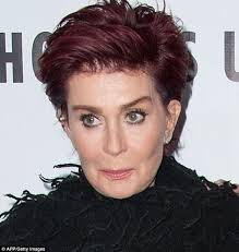 how to get sharon osbournes haircolor sharon osbourne s years of botox appears to have taken their toll