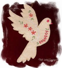 val laird designs journey of a stitcher dove christmas tree