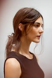 hair style for spring 2015 the skate or die ponytail spotted backstage at creatures of the