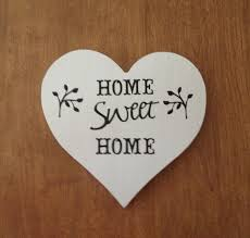 heart decorations home painted wooden heart diy home decor