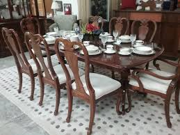 dining table u0026 8 chairs stanley furniture the millionaire u0027s daughter