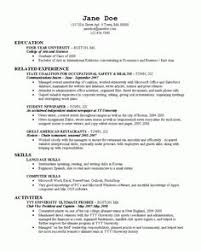 Sample Resume Of A College Student by Good Resume Examples For College Students Sample Resumes Http