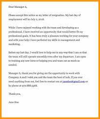 heartfelt resignation letter sample bio letter format