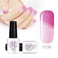amazon com mix gel nail polish colors changing nail polish