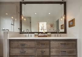 Bathroom Vanity Sconces Wonderful Bathroom Vanity Sconces Large Square Mirror Wooden