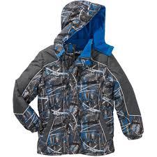 ixtreme boys puffer fleece lined hooded jacket walmart