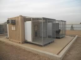 containerized k9 kennel kennel idea pinterest k9 kennels