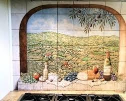 kitchen tile murals backsplash decorative kitchen tile oasiswellness co