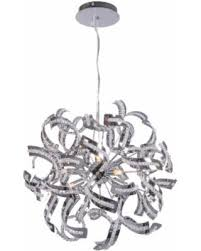 ribbon pendant ceiling light memorial day sale joshua marshal home collection 9 light chrome