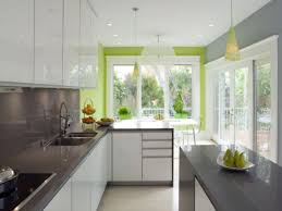 exciting green kitchen ideas with lime tile backsplash furnished