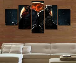 superman home decor 5 pieces batman man of steel superman painting canvas wall art